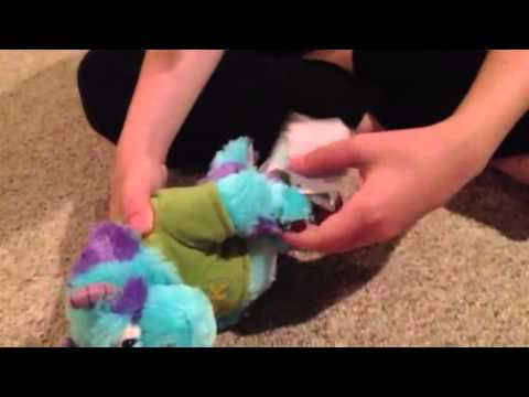 Monster's University Sully plush by Spiderman Jerry