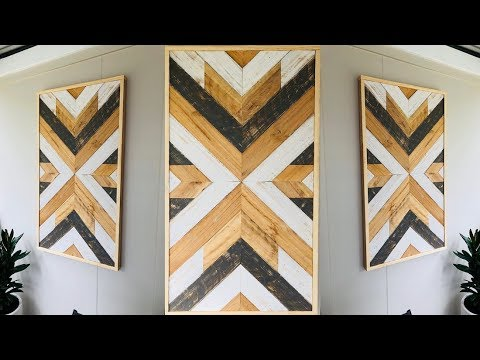 Recycled Pallet Wood Wall Art
