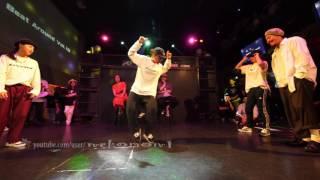 エンジェライズ(RingoWinbee Rio) vs DownzKru(ERiFeNeSiS kt) FINAL Beat Around vol.18 慶應大 ダンスサークル Revolveイベント