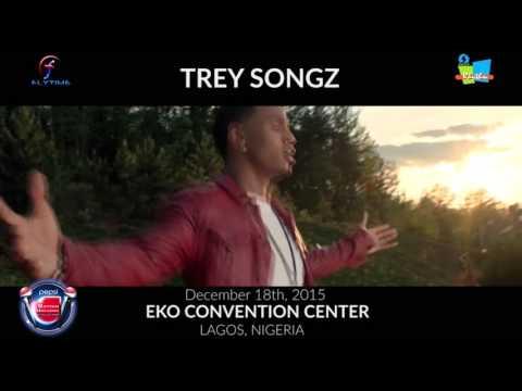 Announcing Trey Songz live at Pepsi Rhythm Unplugged 2015