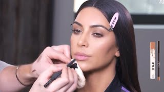 KKW Beauty: Sooo Fire Collection Makeup Tutorial - Kim