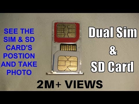How To Insert Dual SIM With Micro SD Card In Hybrid Slot In 2019