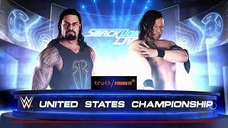 WWE 2K18 | Roman Reigns Vs Shinsuke Nakamura United States Championship | Rusev Attacks Roman Reigns