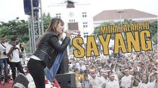 Mitha Talahatu - Sayang Live di Millennial Road Safety Festival Ambon