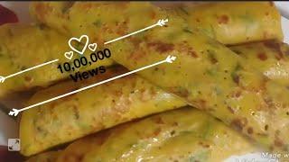 टिफिनसाठी  झटपट घावन   Ghavan   गव्हाचे झटपट घावन   पौष्टिक घावन   आटे से स्वादिष्ट ब्रेकफास्ट