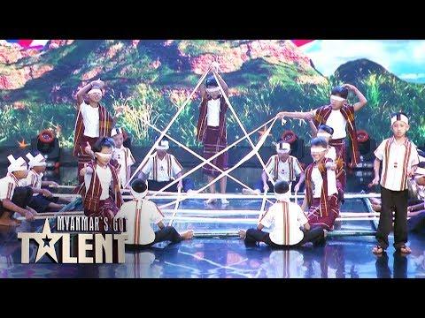 Baby Star: Semi Final | Myanmar's Got Talent 2019