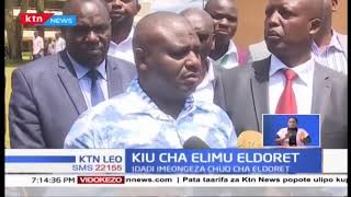 Kamati ya Mbunge kuhusu Elimu imezuru chuo cha mafunzo cha Eldoret