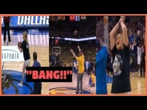 NBA Fans Make Half Court Shots in every Team!! - Compilation