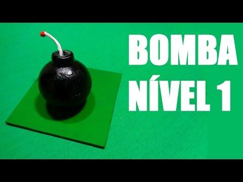 Como fazer Bomba Nível 1 CLASH OF CLANS
