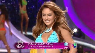 Barbara Turbay - Resumen de Nuestra Belleza Latina 2013