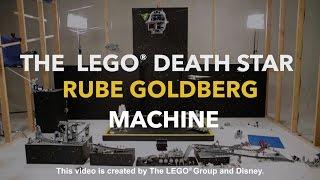 LEGO® Death Star Rube Goldberg Machine | Disney