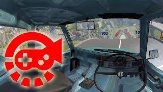360° Video - Car Jump Arena, BeamNG.drive