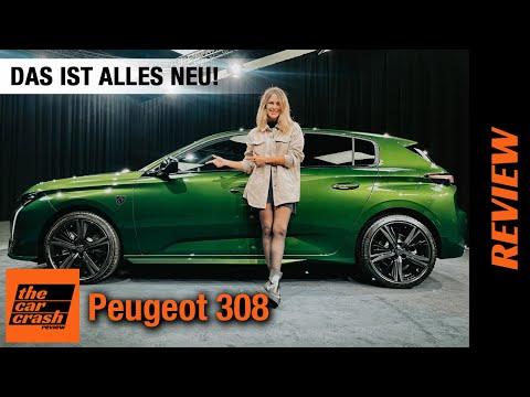 Peugeot 308 (2021) Das ist alles NEU! 💚 Review | Test | Plug-in Hybrid | Preis | Sitzprobe | SW