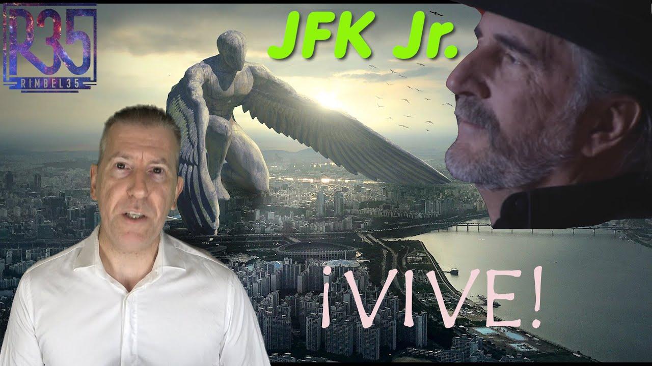 CONFIRMADO: JFK Jr. Está VIVO y YA APARECE EN PÚBLICO