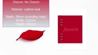 Clipbook Classic Poppy A5      Organiser World