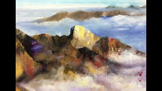 Use concept to paint everything, creating something touching and readable painting.