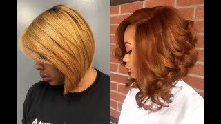 Short Bob Haircuts For Black Women 2019