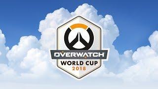 Overwatch World Cup Paris 2018 - Day 1