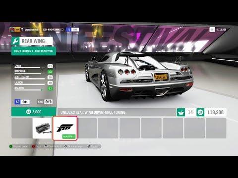 Forza Horizon 4 - Customizing The Koenigsegg CCX