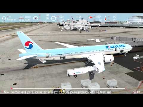 Prepar3d V4 PMDG 747 v3 Dubai to Seoul on vatsim long haul
