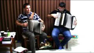 Blueberry Hill - Accordion Duet