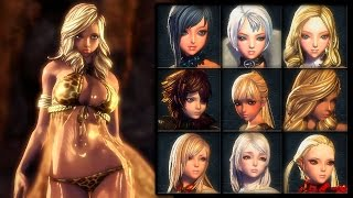 Blade & Soul - Profile Pack #1 - Old & New - KR/CN/JP/TW/NA/EU