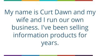 Curtis Dawn - Infobusiness in business opportunities