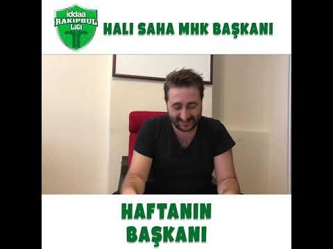 Halı Sahaların MHK Başkanı Arif Sevimli ile Haftanın Başkanı sizlerle!