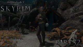 Skyrim - The Elder Scrolls 5: Щелкающая пещера, Путеводная звезда опять загадка - летсплей(часть32)