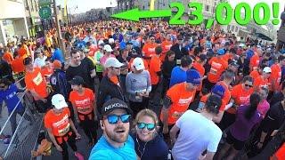 We ran the 2017 SPORTING LIFE 10K!   GoPro   Toronto Canada