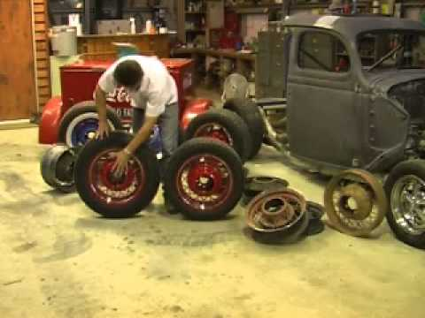 """""""How to Modify Early Ford Wire Wheels."""""""