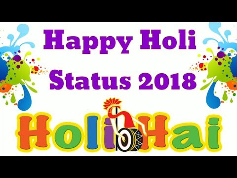 Holi Hindi Shayari Quotes Status 2018 ~ Happy Holi Whatsapp Status Video | Dhuleti 2018