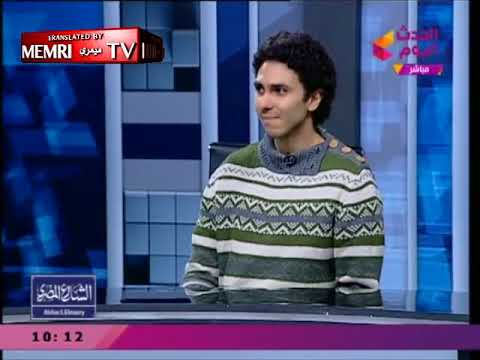 Aetheist goes on Egyptian TV.