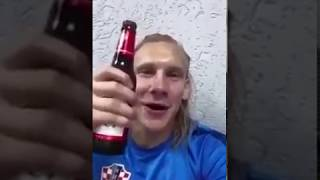 """Домагой Вида, Ивица Олич  _  """"Слава Украине! Белград гори!"""""""