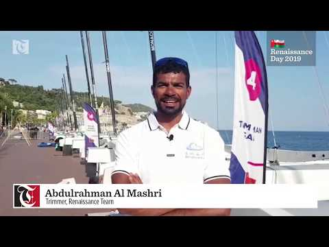 Renaissance Day greetings from Oman Sail teams in France
