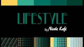 Lifestyle By Nicole Kafi - Aloha Sunset Look Book (Home Accents)