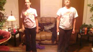 Dancing to just dance 4-hot for me