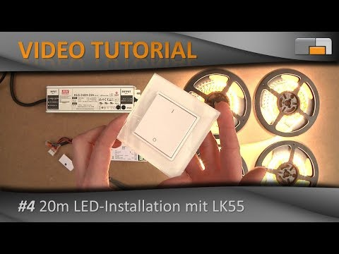 LED Anleitung - Teil 4: Große LED-Installation (20 Meter!) einfach realisiert