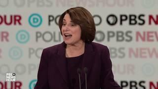 WATCH: Amy Klobuchar's closing statement | Sixth Democratic debate