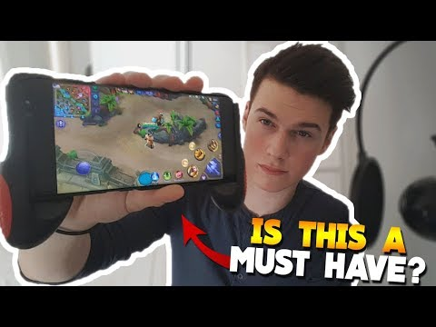 Mobile Legends Grip Review/Gameplay! (Turn Your Phone into a Hand control) BWD #18