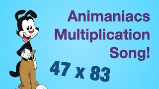Multiplication Song - The Animaniacs (Redone)