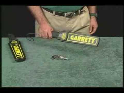 Garrett SuperScanner detector de metales manual, Español