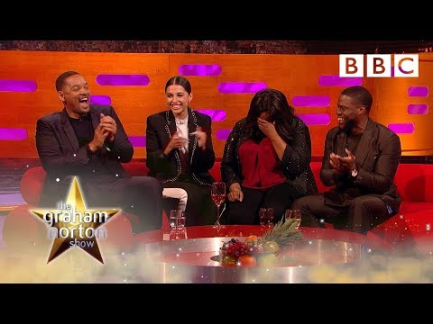 Will Smith and Kevin Hart's motivational speech fires up the audience! 🔥 - BBC