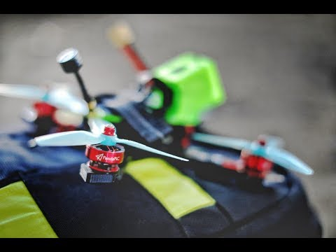PandaRC PM2306 -2450kv 3-6S REVIEW-Flight and Crash Test | SUB [ITA-ENG]