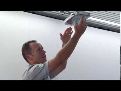 Entkalken und reinigen der Hansgrohe Raindance Select Kopfbrause