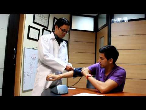 Complejo de ejercicios gimnásticos para la hipertensión