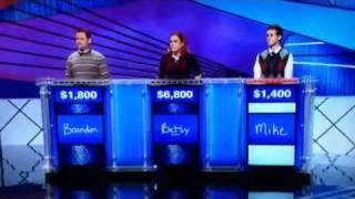 Donkey Punch on Jeopardy! (HyperVocal vid)