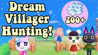 ULTIMATE DREAMIE Villager Hunt (200+ NMTS) | Animal Crossing New Horizons
