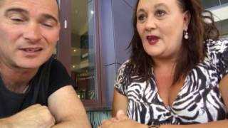 """Tracey Horton, """"The Unhappy Smile"""" chat with Adam Brand"""