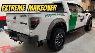 Restoring My BORDER PATROL Ford Raptor to its FORMER GLORY